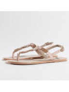 Pieces Slipper/Sandaal Carmen beige