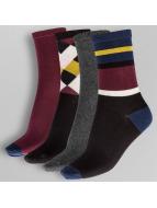 Pieces Socken pcEmmy 4 bunt