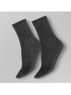Pieces Socken pcRia 2 Pack grau
