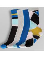 Pieces Sokken pcEmmy 4 Pack blauw