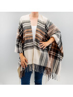 Pieces Strickjacke pcPerle Poncho grau