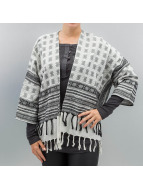 Pieces Strickjacke pcBisla Poncho schwarz