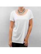 Pieces T-paidat Emma valkoinen