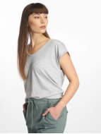 Pieces T-Shirt PCBillo Solid grau