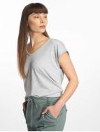Pieces t-shirt PCBillo Solid grijs