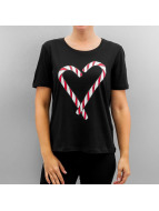 Pieces t-shirt pcVinnie zwart