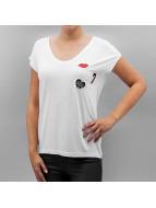 Pieces T-skjorter PcBillo hvit