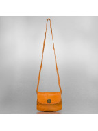 Pieces Tasche Totally Royal Leather Party braun