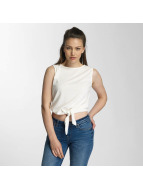 Pieces Top pcAlba blanc