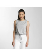 Pieces Top pcAlba gris