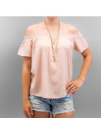 Pieces Top pcFife Off Shoulde rosa
