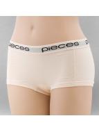 Pieces Underwear Logo Lady beige