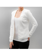 Pieces Veste costume pcNattie blanc