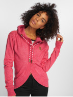 Platinum Anchor Wailua Hooded Cardigan Berry Melange
