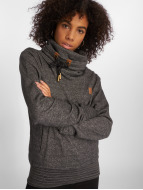 Platinum Anchor Makena Pullover Black Melange