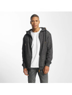 Platinum Anchor Hookipa Zip Hoody Black Melange