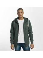 Platinum Anchor Hookipa Zip Hoody Bottle Green Melange