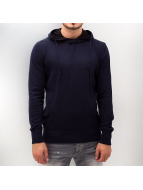 Poolman Sweat à capuche Uni Knit bleu