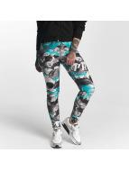 Pro Violence Streetwear Leggingsit/Treggingsit Camo Skull kirjava
