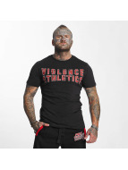 Pro Violence Streetwear Trika Streetwear Athletics čern