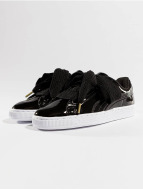 Puma Basket Heart Patent Sneakers Puma Black