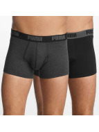 Puma Boxer Short 2-Pack Basic Trunk gray