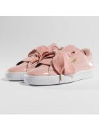 Puma Sneaker Basket Heart Patent rosa