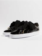 Puma Sneakers Basket Heart Patent black