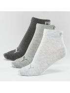 Puma Strømper 3-Pack Quarters grå