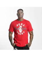 Pure Hate Camiseta Pure Fight rojo