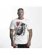 Pure Hate T-paidat Hand Grenade valkoinen