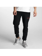 Pusher Apparel joggingbroek 215 Jacking zwart