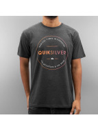 Quiksilver Футболка Free Zone Heather серый