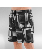 Quiksilver Badeshorts Check Remix Volley 17 schwarz