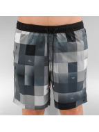 Quiksilver Badeshorts Check Mark Volley 17 schwarz