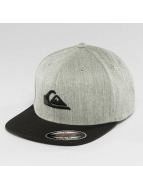 Quiksilver Casquette Fitted Stuckles gris