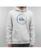 Quiksilver Felpa con cappuccio Big Logo grigio