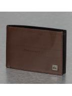 Quiksilver portemonnee Stitched II bruin