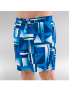 Quiksilver Short de bain Check Remix Volley 17 bleu