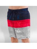 Quiksilver Short de bain Word Waves Volley 17 rouge