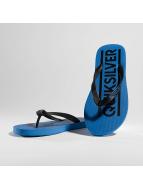 Quiksilver Slipper/Sandaal Java Wordmark blauw
