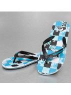 Quiksilver Slippers/Sandalen Molokai Check blauw
