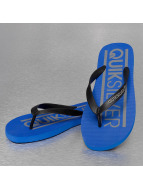 Quiksilver Slippers/Sandalen Java Wordmark blauw
