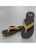 Quiksilver Slippers/Sandalen Molokai Laser Grip bruin