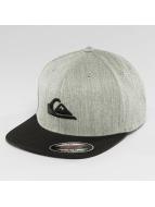 Quiksilver Snapback Cap Stuckles grau