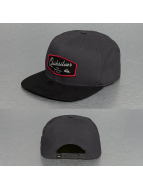 Quiksilver snapback cap On Top grijs