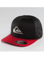 Quiksilver Snapback Caps Mountain And Wave musta