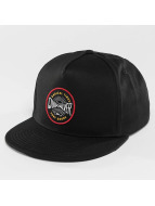 Quiksilver Snapback Caps Mouthy musta