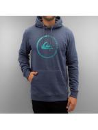 Quiksilver Sweat à capuche Big Logo bleu