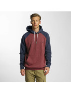 Quiksilver Sweat à capuche Everyday rouge
